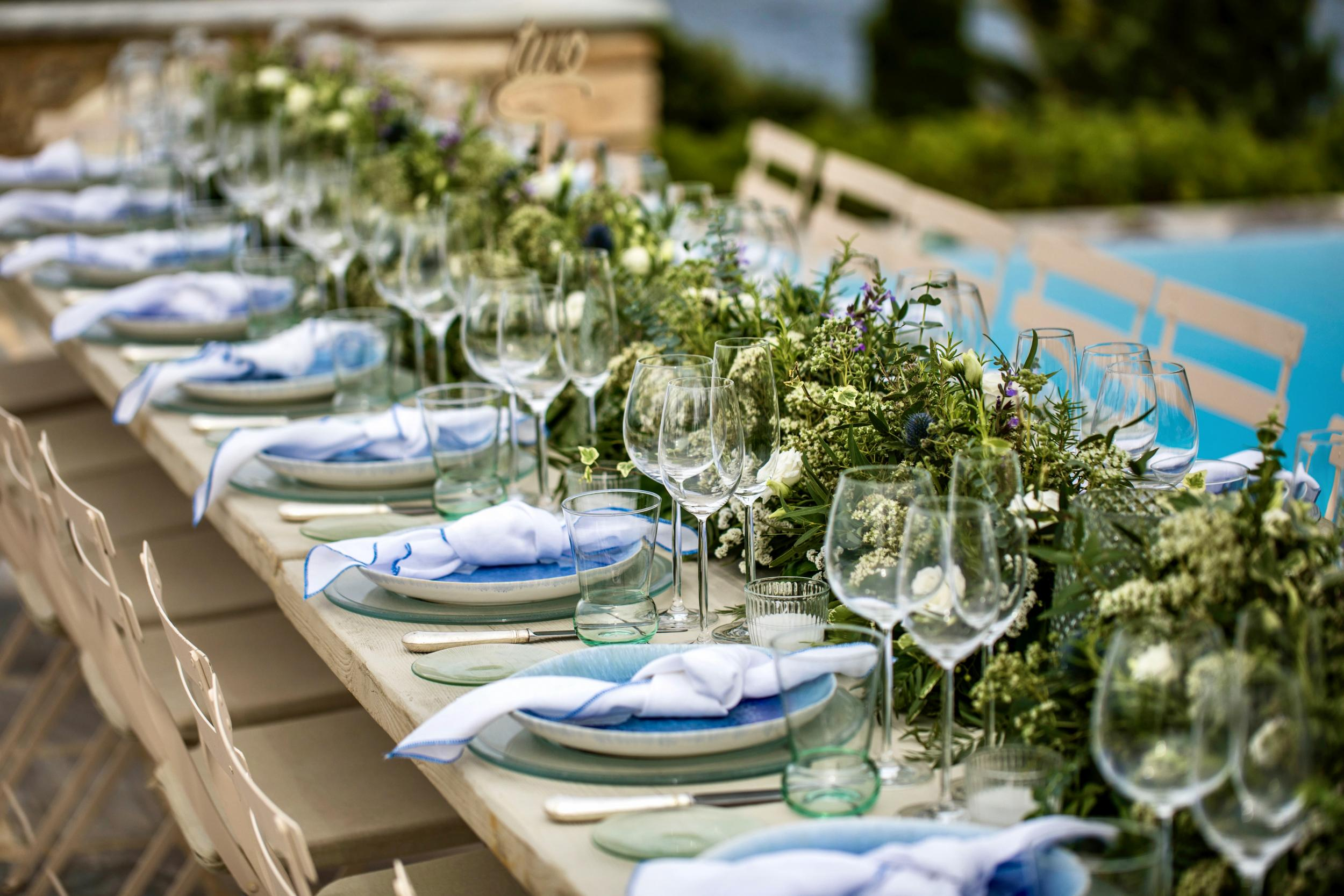 Blue plate set - Image 2