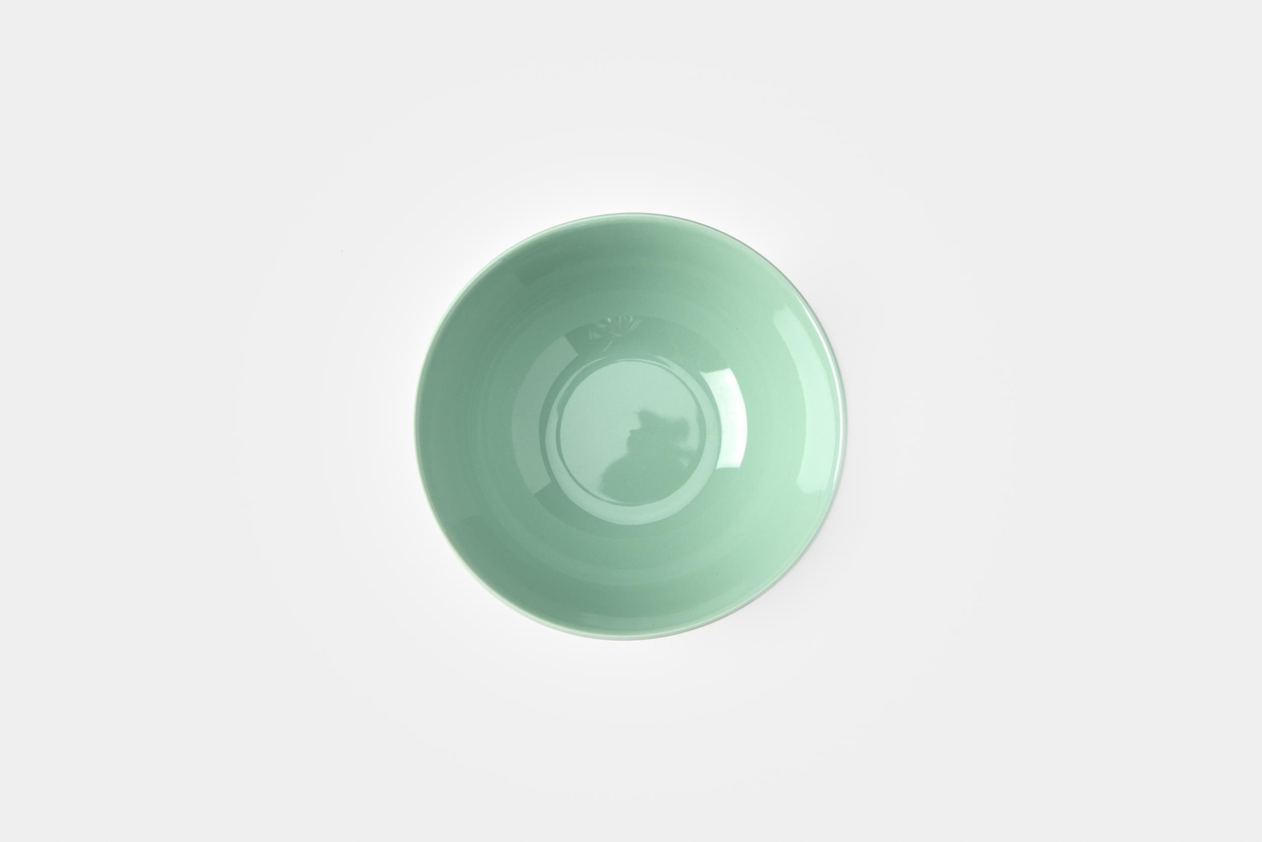 Mint green bowl - Image 0