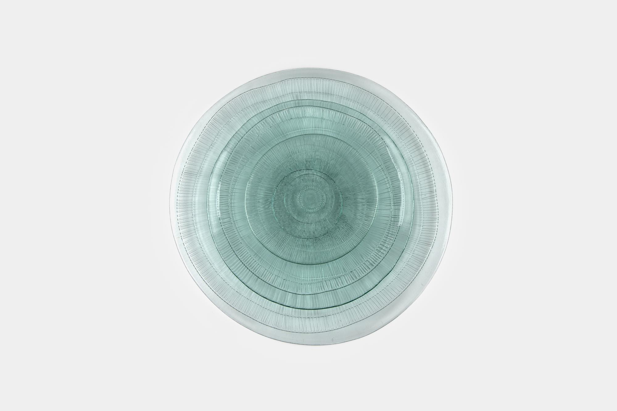 Recycled glass plate set - Image 1